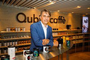 Odprtje prodajno-razstavnega salona Qubik Caffè v Ljubljani
